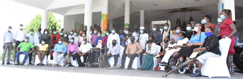NCPWD EVENT participants pausing for a photo