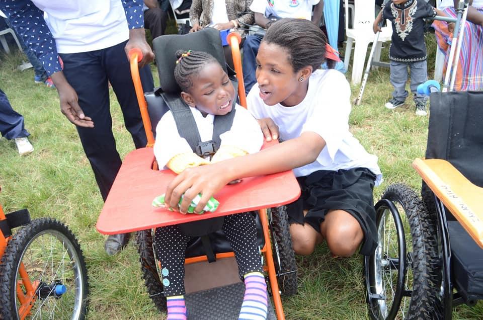 Presentation of wheelchairs