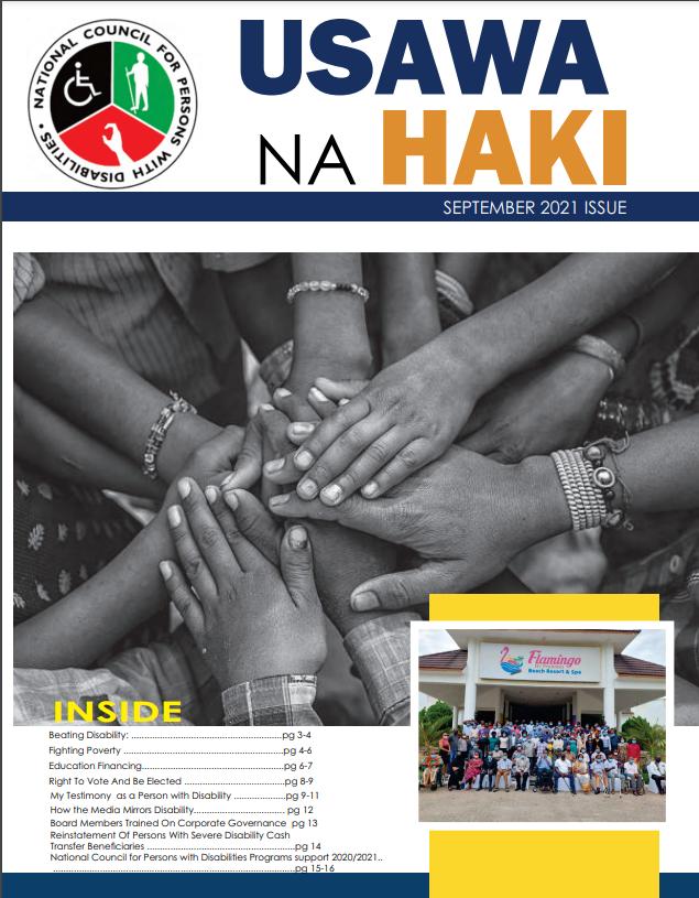 USAWA NA HAKI SEPTEMBER ISSUE